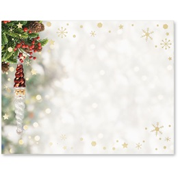 Santa Ornament Specialty Postcards