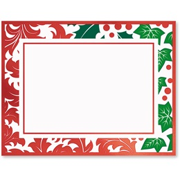 Jolly Holly Specialty Postcards