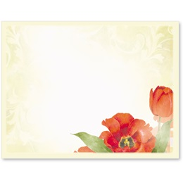 Tulip Romance Postcards