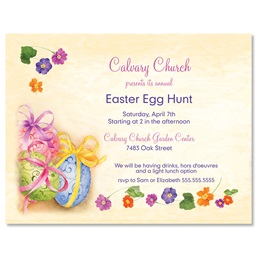 Easter Egg Soiree Postcards