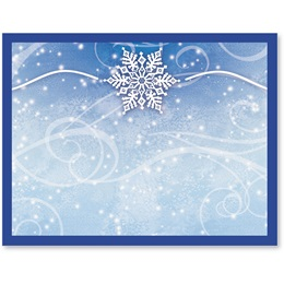Winter Snow Holiday Postcards