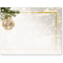 Golden Glitz Postcards