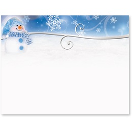 Snowman Postcards