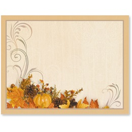 Swirls of Autumn Postcards