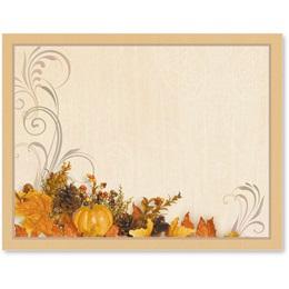 Swirls of Autumn Postcards