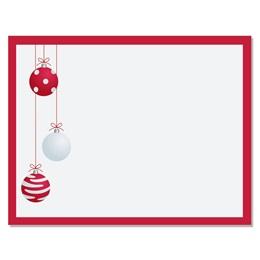 Crimson Delight Specialty Holiday Postcards