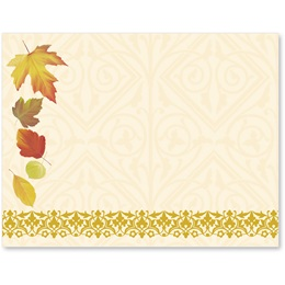 Fall Fancy Postcards