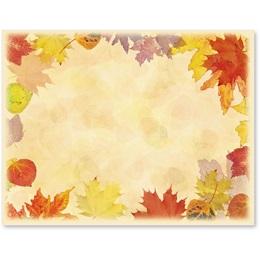 Translucent Leaves Postcards
