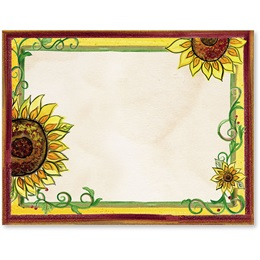 Tuscan Sunflowers Postcards