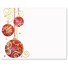 Crimson and Gold Specialty Postcards