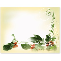 Holiday Holly Postcards