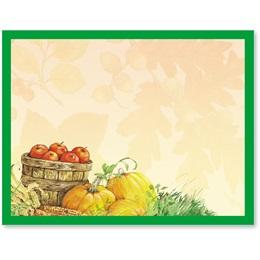 Fall Motif Postcards
