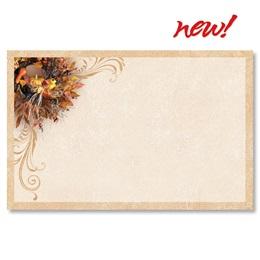 Harvest Wreath Postcards