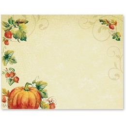 Pumpkin Spice Postcards