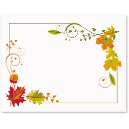 Fall Freshness Postcards