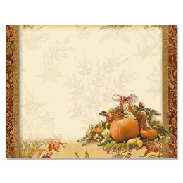 Autumn Adornment Postcards