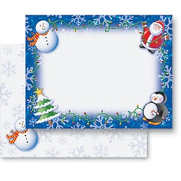 Whimsical Wonderland Holiday Postcards