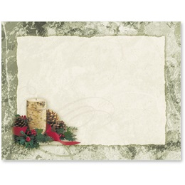 Rustic Christmas Postcards
