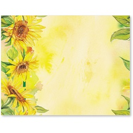 Sunflower Garden Postcards