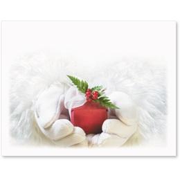 Santa's Gift Christmas Postcards