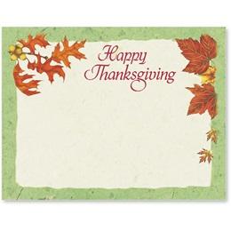 Thankful Season Postcards
