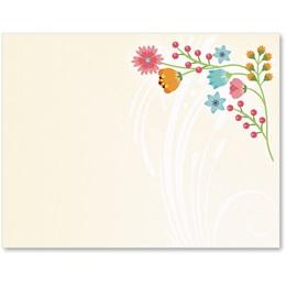 Flower Frame Postcards