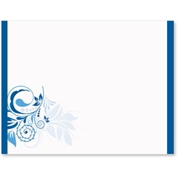 Blue Whisper Postcards