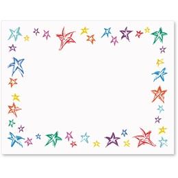 Festive Stars Postcards