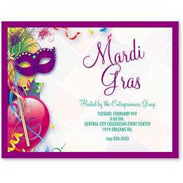 Fat Tuesday Postcards