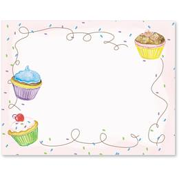 Cupcake Party Postcards