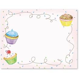 Cupcake Party Postcards