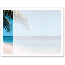 Beach 1 Light Blue Postcards