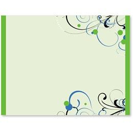 Imagination Light Green Postcards