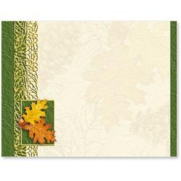 Autumn Acorns Postcards