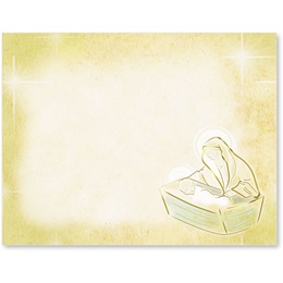 Baby Jesus Christmas Postcards