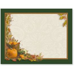 Harvest Flourish Postcards