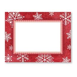 Snowflake Delight Christmas Postcards