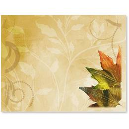Fall Brilliance Postcards Printed