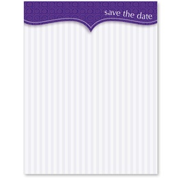 "First Impressions ""Save the Date"" Postcards"