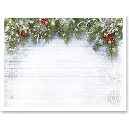 Snowy Sentiment Specialty Postcards