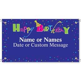 Happy Birthday Vinyl Banners