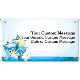Star Power Vinyl Banners