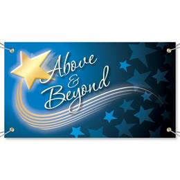 Above and Beyond Vinyl Banners