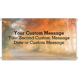 Fall Trees Vinyl Banners