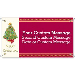 O Christmas Tree Vinyl Banners