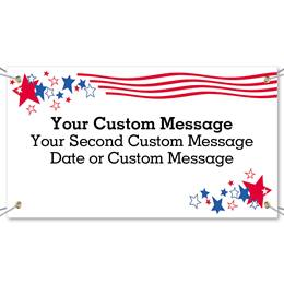 Stars and Stripes Vinyl Banners