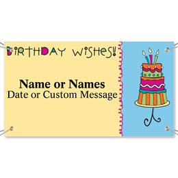 Sweet Wishes Vinyl Banners