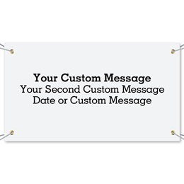 Add Your Own Design Vinyl Banners