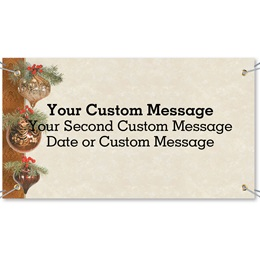Holiday Brilliance Vinyl Banners