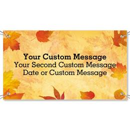 Fall Impressions Vinyl Banners